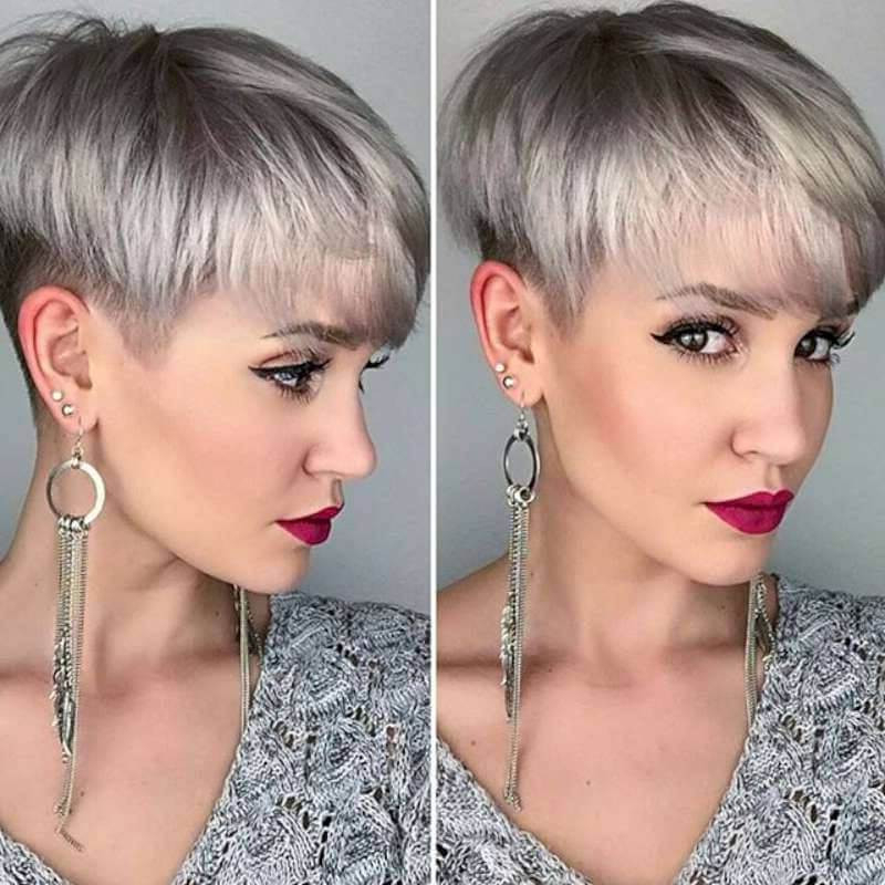 20+ Stylish Short Hairstyles For Women With Fine Hair – Sensod Within Long Blonde Pixie Haircuts With Root Fade (View 22 of 25)