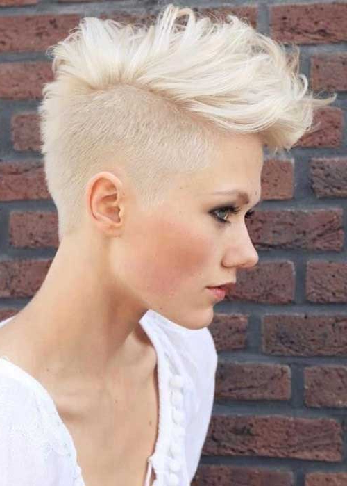 20 Textured Short Haircuts | Short Hairstyles 2017 – 2018 | Most Regarding Textured Undercut Pixie Hairstyles (View 11 of 25)