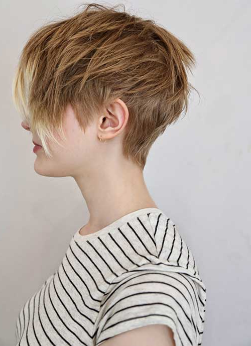 20 Textured Short Haircuts | Short Hairstyles 2017 – 2018 | Most With Textured Undercut Pixie Hairstyles (View 12 of 25)
