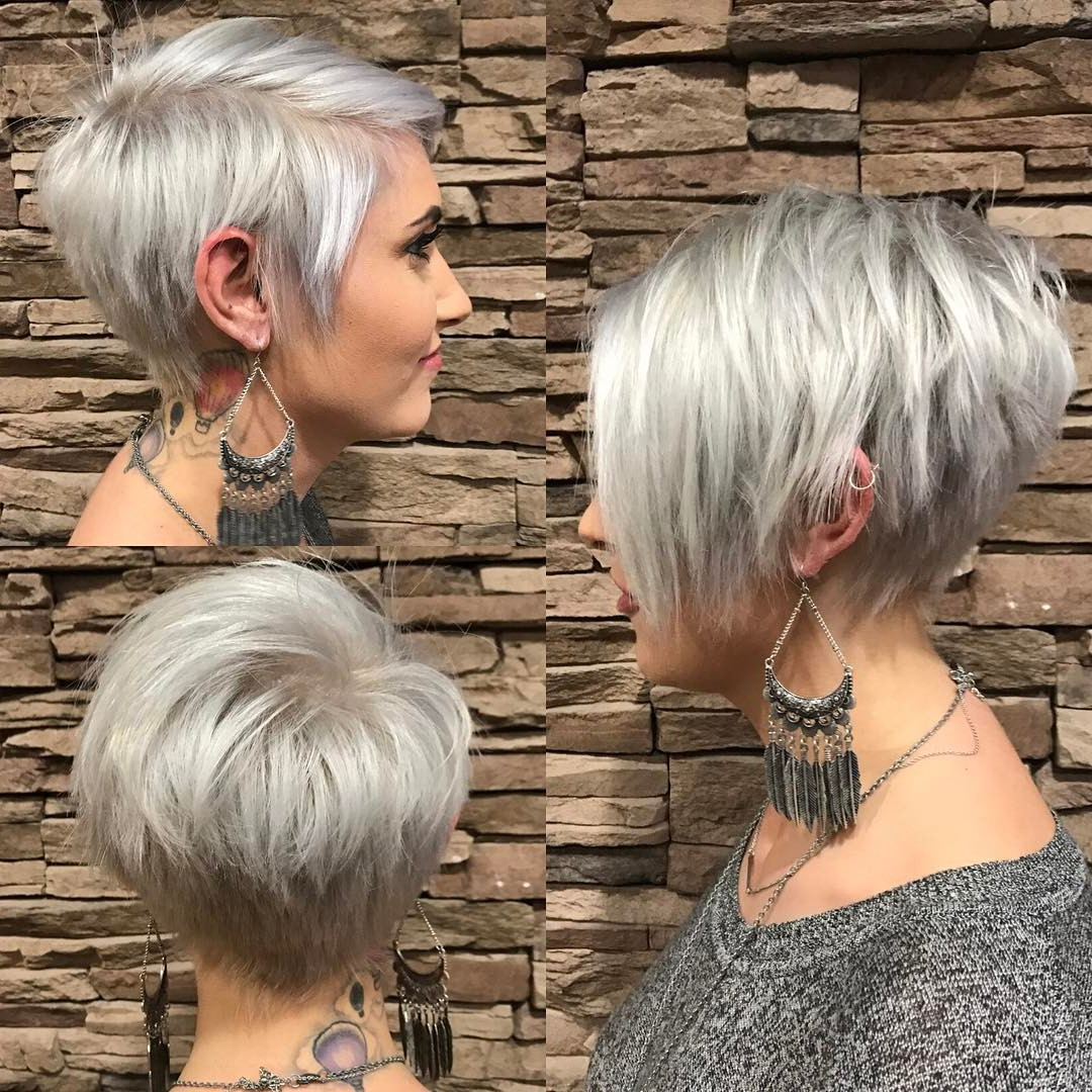 20 Trendy Hair Color Ideas For Women – 2017: Platinum Blonde Hair Ideas Inside Platinum Blonde Short Hairstyles (View 5 of 25)