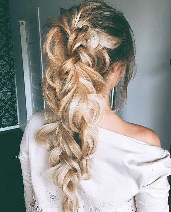 Featured Photo of Loosely Braided Ponytail Hairstyles