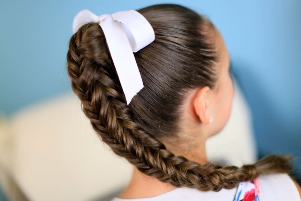 20 Unique Braided Ponytails For Every Occasion Within Loosely Braided Ponytail Hairstyles (View 24 of 25)