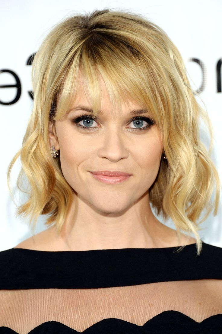 20+ Wavy Bob Hairstyles For Short & Medium Length Hair – Hairstyles Pertaining To Short To Medium Hairstyles With Bangs (View 15 of 25)