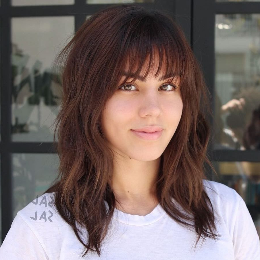 20 Wispy Bangs To Completely Revamp Any Hairstyle In 2018 | Hair Intended For Short Haircuts With Wispy Bangs (View 12 of 25)