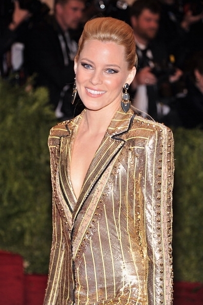 2013 Met Gala: Hairstyles How To – Elizabeth Banks' Punk Ponytail Pertaining To Sculptural Punky Ponytail Hairstyles (View 16 of 25)