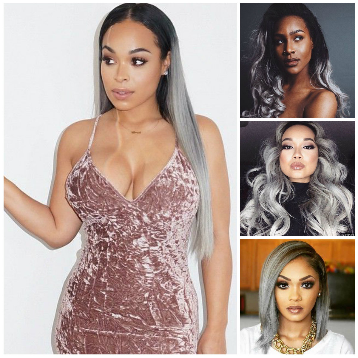 2016 Grey Hair Color Ideas For Black Women | 2019 Haircuts With Regard To Short Hairstyles For Black Women With Gray Hair (View 16 of 25)