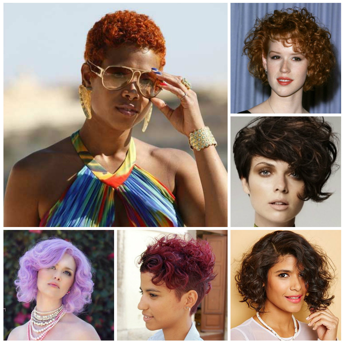 2016 Short Curly Hairstyles | 2019 Haircuts, Hairstyles And Hair Colors With Trendy Short Curly Haircuts (View 3 of 25)