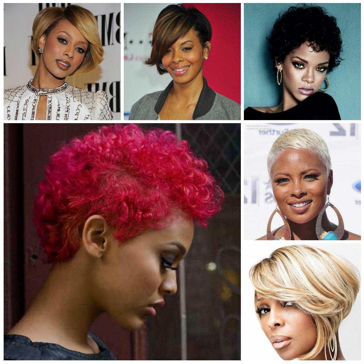 2016 Short Haircuts For Black Women | 2019 Haircuts, Hairstyles And For Layered Short Haircuts For Black Women (View 8 of 25)