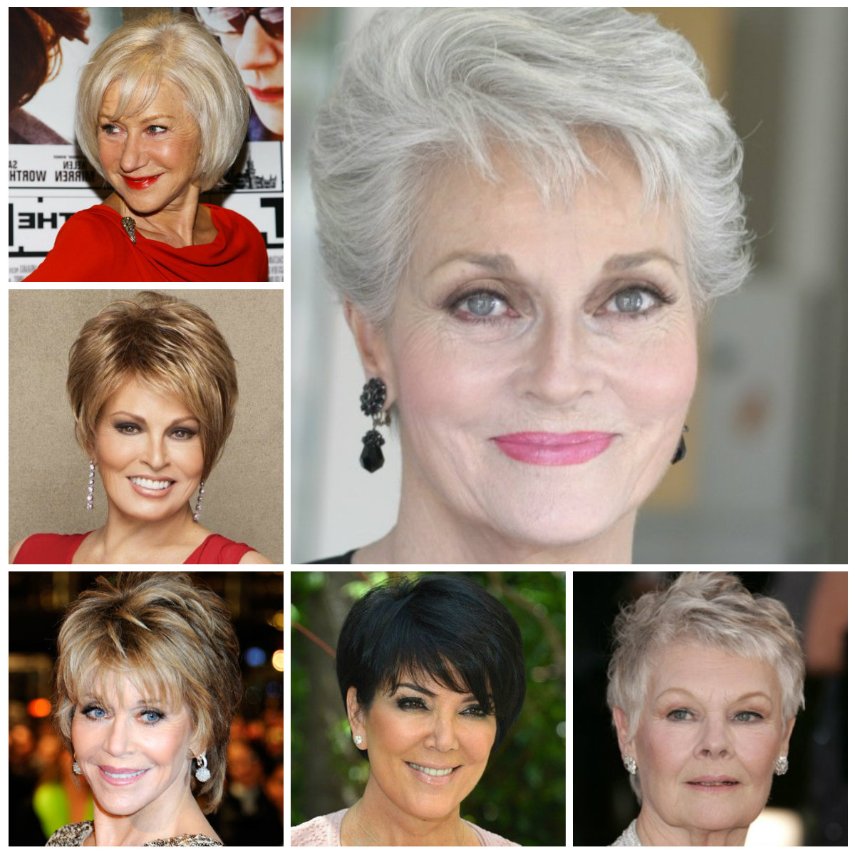 2016 Short Haircuts For Women Over 50 | 2019 Haircuts, Hairstyles For Mature Short Hairstyles (View 12 of 25)