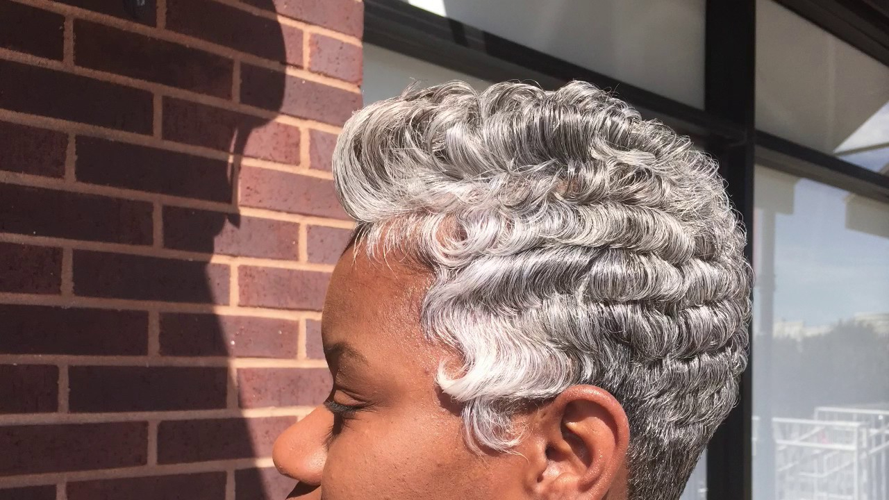 2017 Gray Short Hairstyles |Black Women| Dallas Texas – Youtube With Short Haircuts For Salt And Pepper Hair (View 4 of 25)