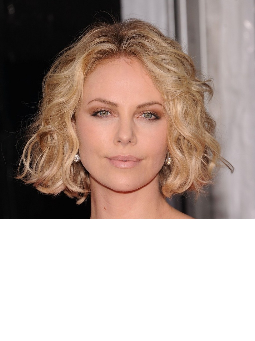 2017 Side Parted Blonde Messy Bob Hairstyle Regarding Side Parted Messy Bob Hairstyles For Wavy Hair (View 7 of 25)