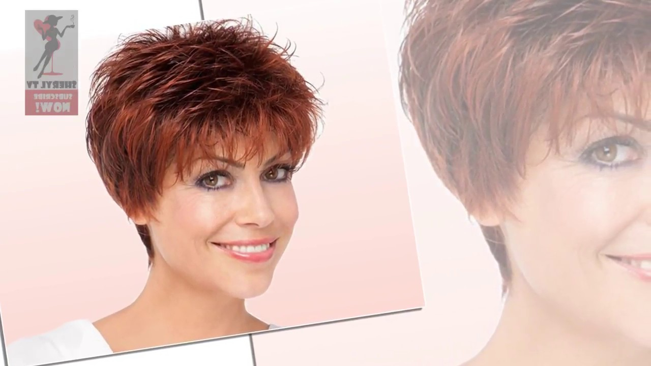 2018 Best Short Haircuts For Older Women – Youtube Throughout Older Lady Short Hairstyles (View 17 of 25)