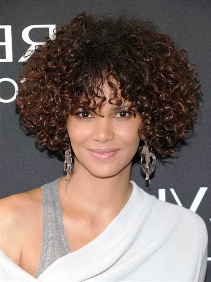 2018 Curly Short Haircuts – Short And Cuts Hairstyles Pertaining To Curly Short Hairstyles Black Women (View 4 of 25)