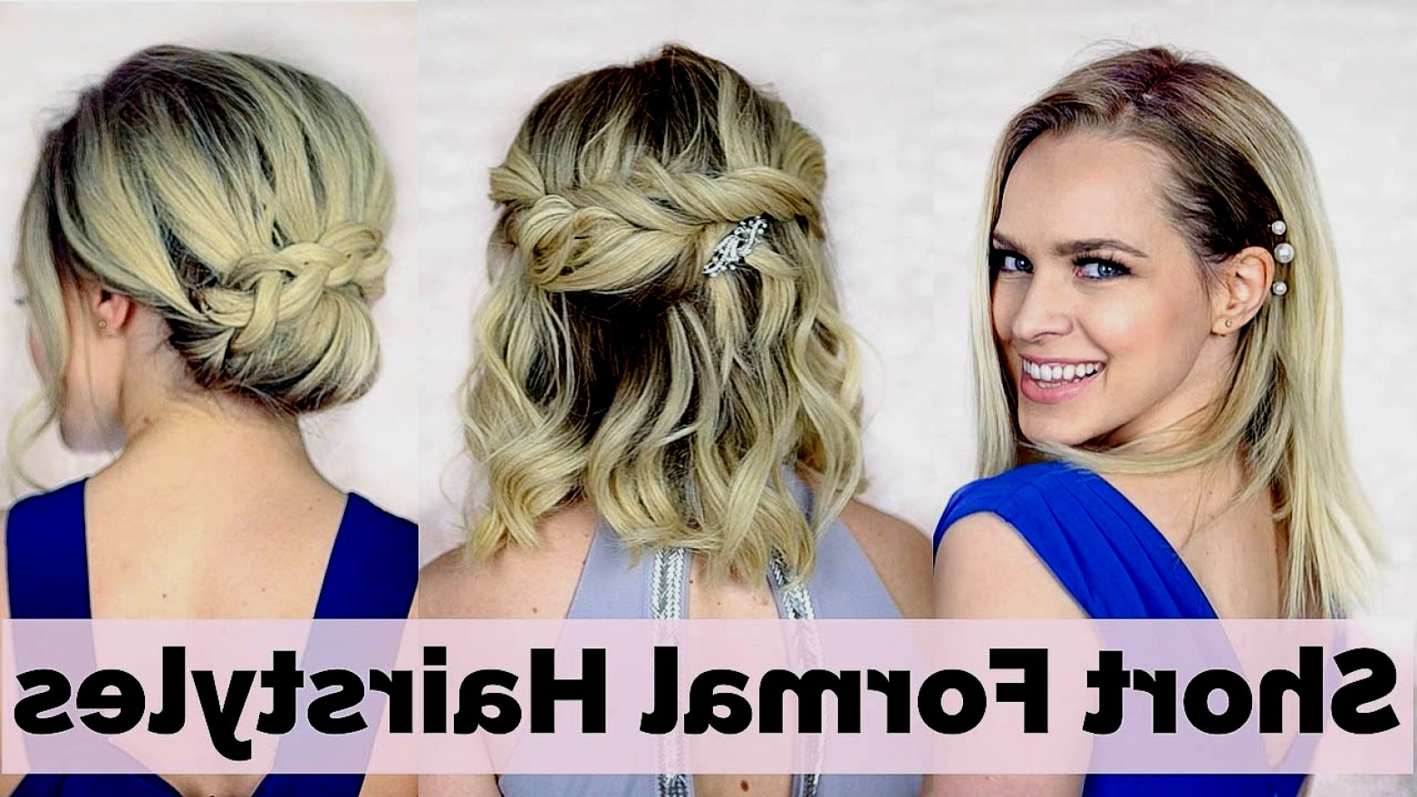 2018 Great Hairstyles For Prom For Short Hair – Men Cuts 2018 With Cute Hairstyles For Short Hair For Homecoming (View 16 of 25)