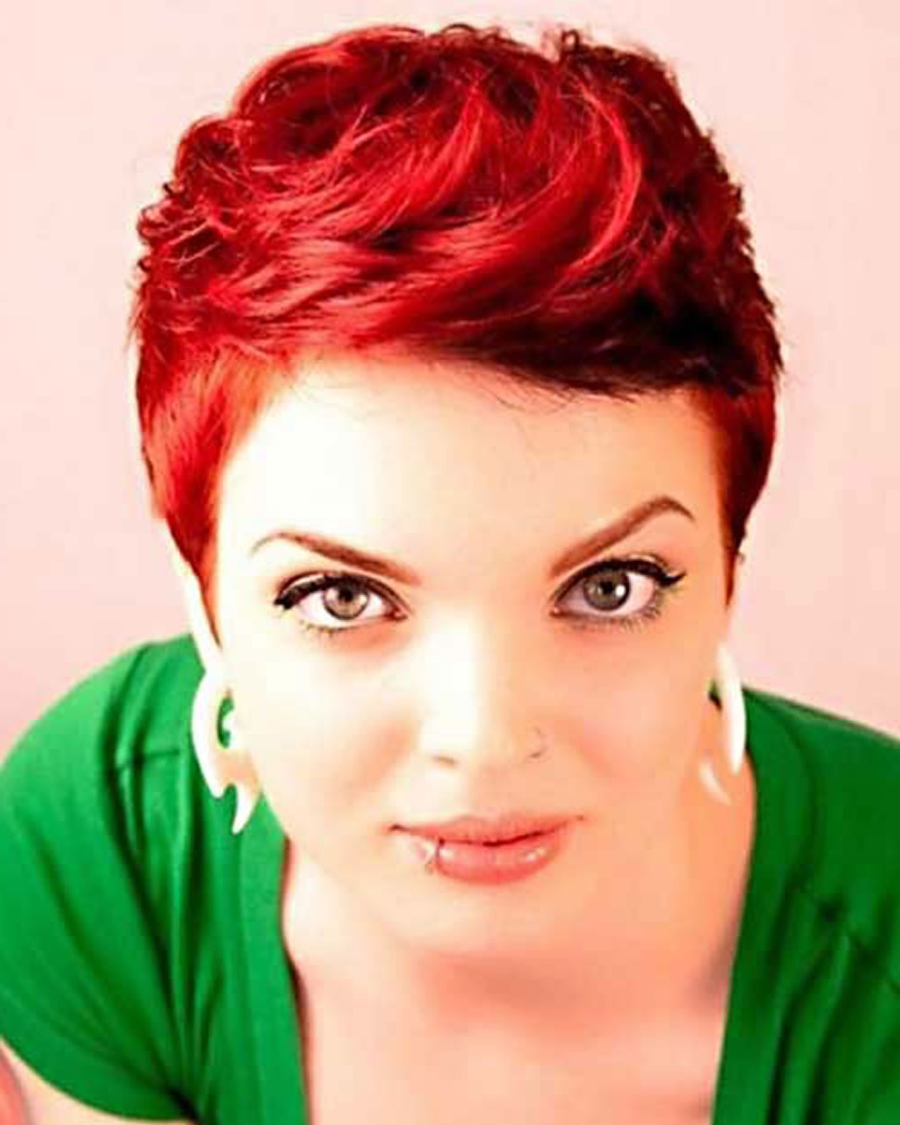 2018 Red Hairstyles – Red Short Hair Ideas & Colours For Ladies Inside Red Short Hairstyles (View 12 of 25)