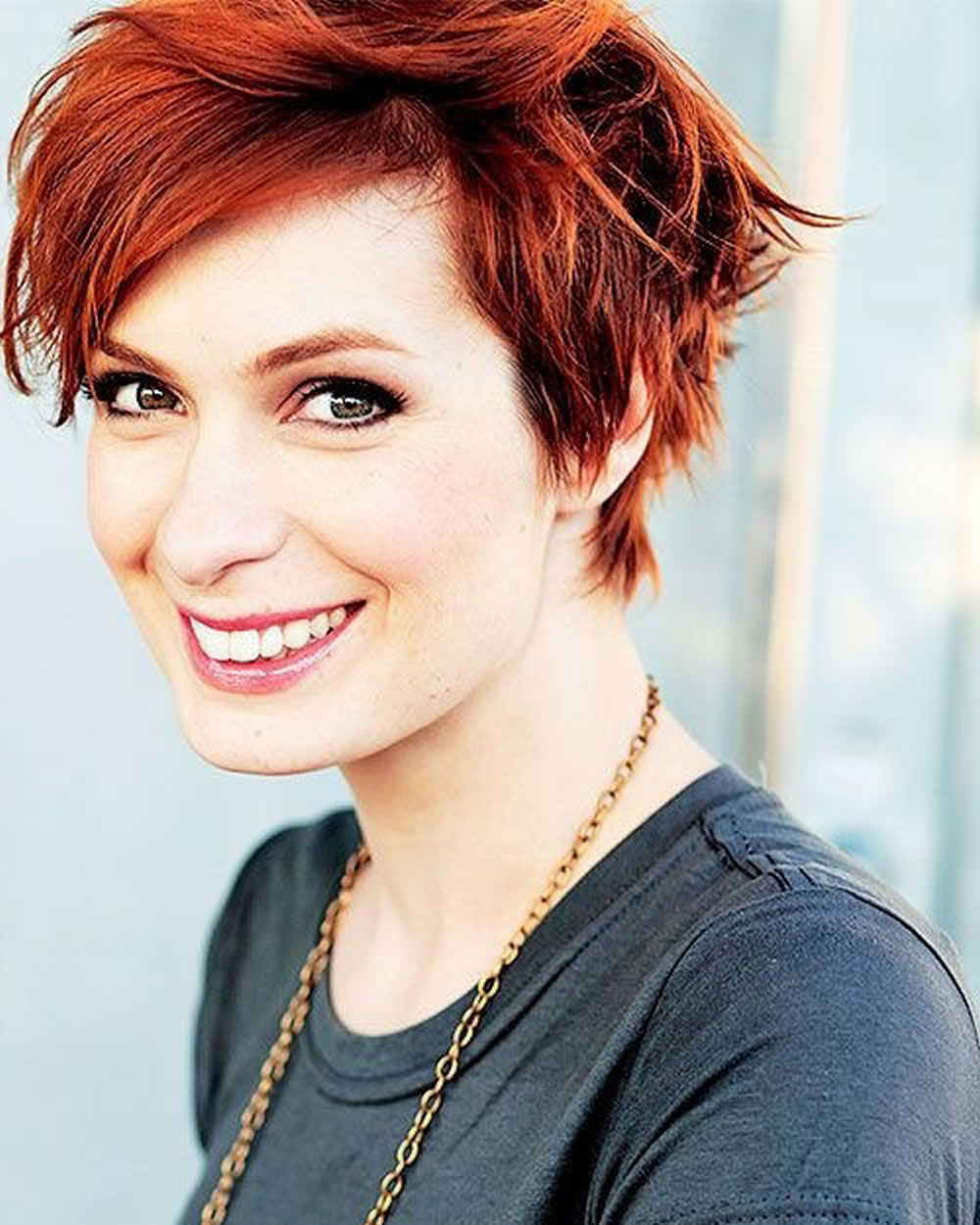 2018 Red Hairstyles – Red Short Hair Ideas & Colours For Ladies Pertaining To Short Haircuts With Red Hair (View 15 of 25)