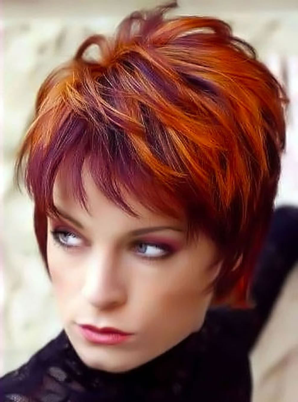2018 Red Short Hairstyles – Top Red Hair Colours – Hairstyles Intended For Red Short Hairstyles (View 7 of 25)