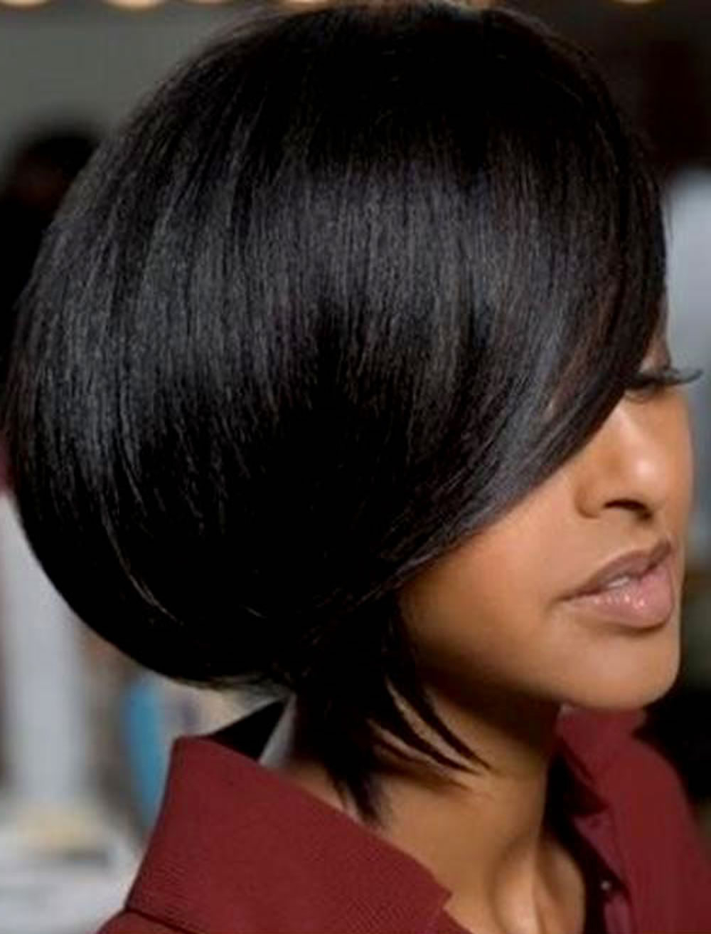 2018 Short Bob Hairstyles For Black Women 26 Excellent Bob Cut Regarding Layered Short Haircuts For Black Women (View 5 of 25)