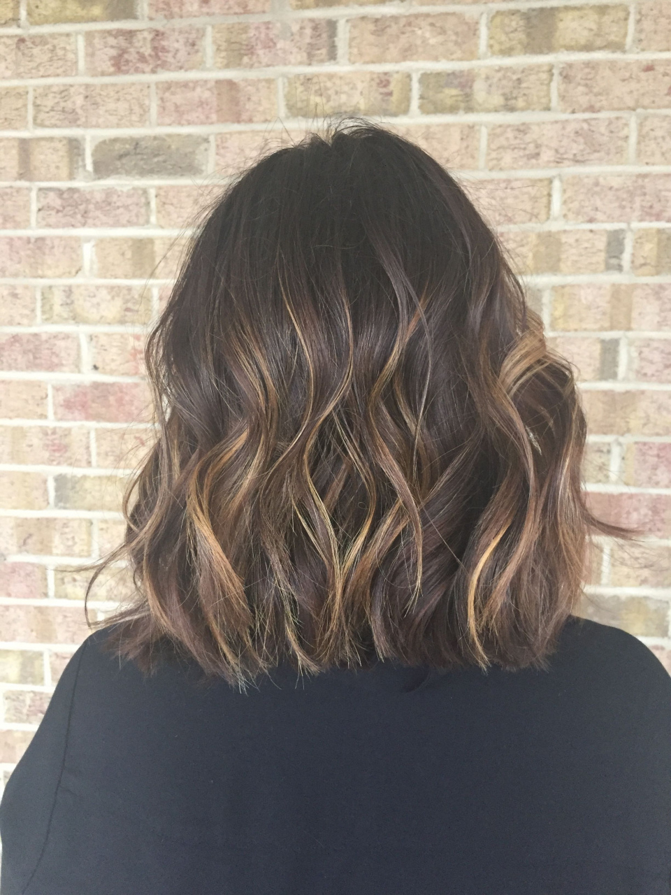 2018 Short Brunette Hairstyles New Balayage For Dark Brown Hair In Short Hairstyles With Balayage (View 25 of 25)