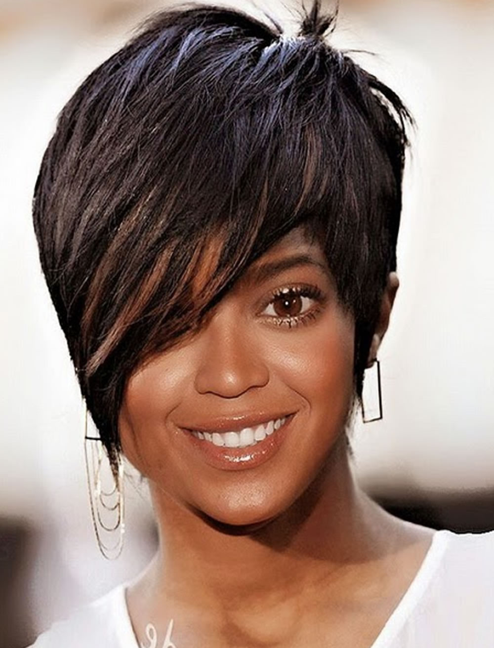 2018 Short Haircuts For Black Women – 67 Pixie Short Black Hair With Regard To Short Haircuts For Black Hair (View 18 of 25)