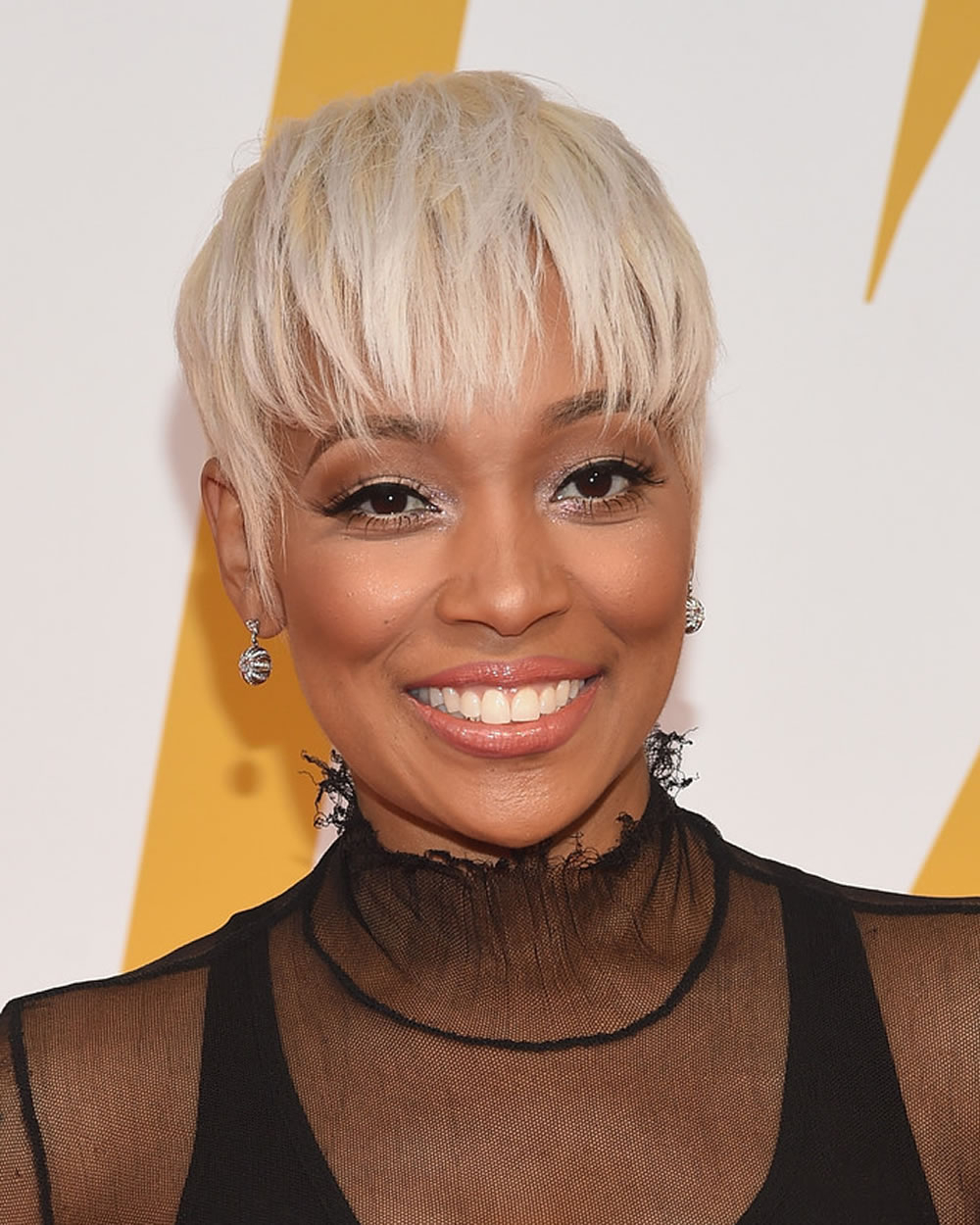 2018 Short Haircuts For Black Women Over 40 With Fine Hair – Page 7 Intended For Short Hairstyles Fine Hair Over  (View 13 of 25)