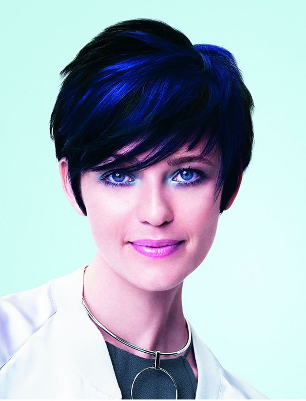 2018 Short Haircuts For Women | Haircuts Intended For Purple And Black Short Hairstyles (View 7 of 25)