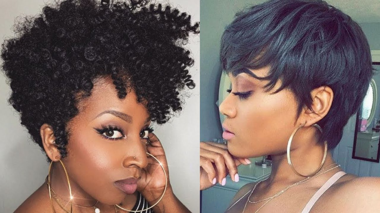 2018 Short Hairstyle Ideas For Black Women – Youtube For Short Hairstyles For African Hair (View 4 of 25)