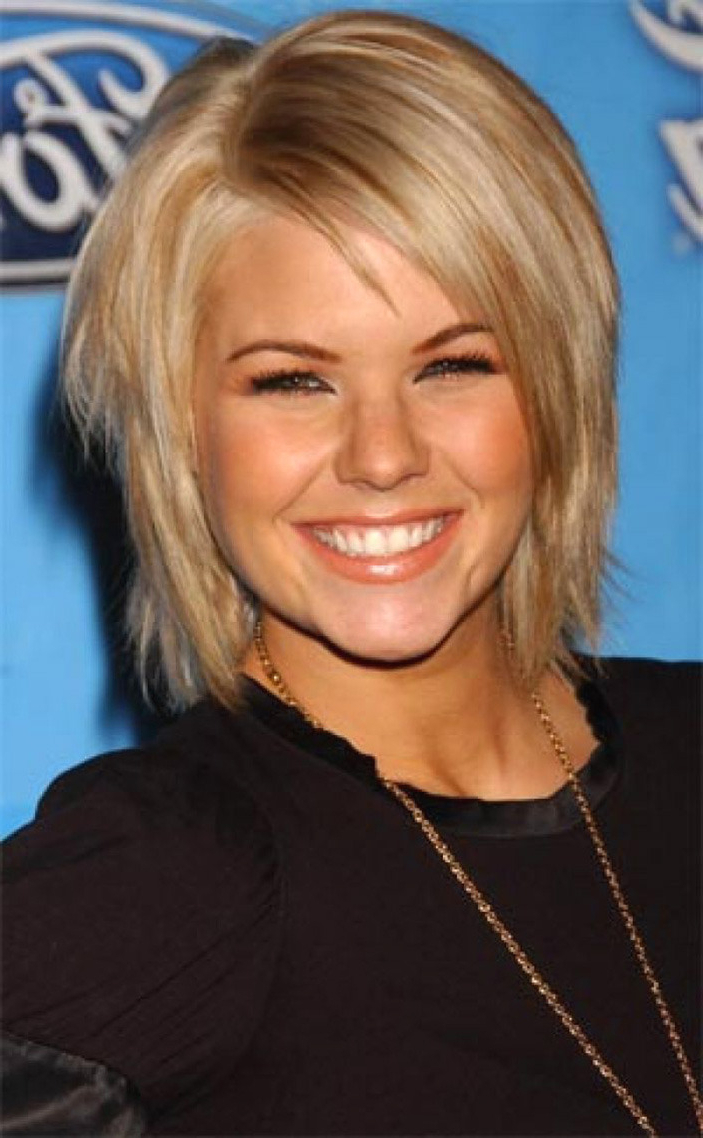 2018 Short Hairstyles For Round Face And Fine Hair Best Of Drawing For Short Hairstyles For Thin Fine Hair And Round Face (View 17 of 25)