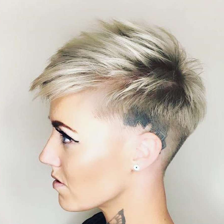 2018 Spunky Short Hairstyles Fresh Short Hairstyle 2018 – 36 – Www With Regard To Spunky Short Hairstyles (View 2 of 25)