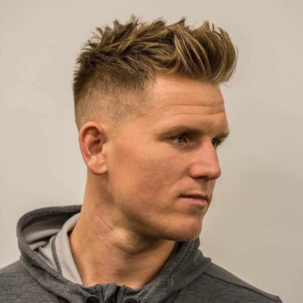 2018's Most Popular And Trendy Short Haircuts For Men – Pces In Low Maintenance Short Haircuts For Thick Hair (View 18 of 25)