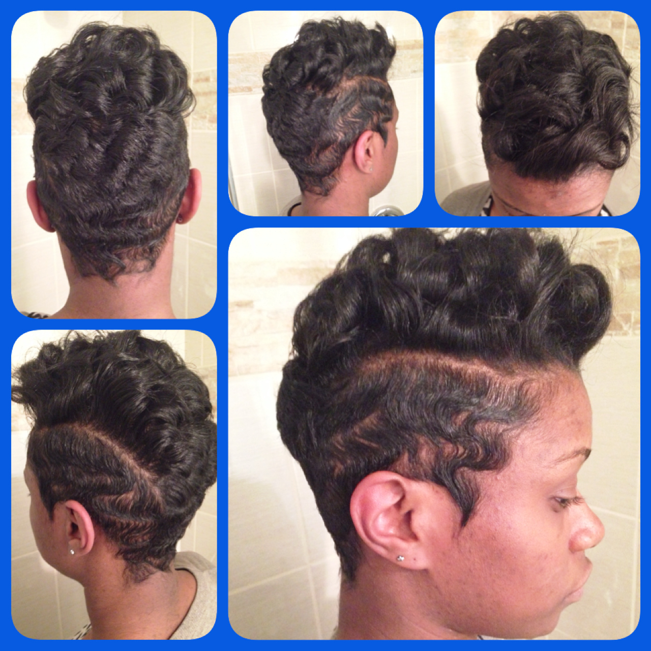 2019 African American Finger Wave Hairstyles Unique Soft Short Regarding Soft Short Hairstyles For Black Women (View 18 of 25)