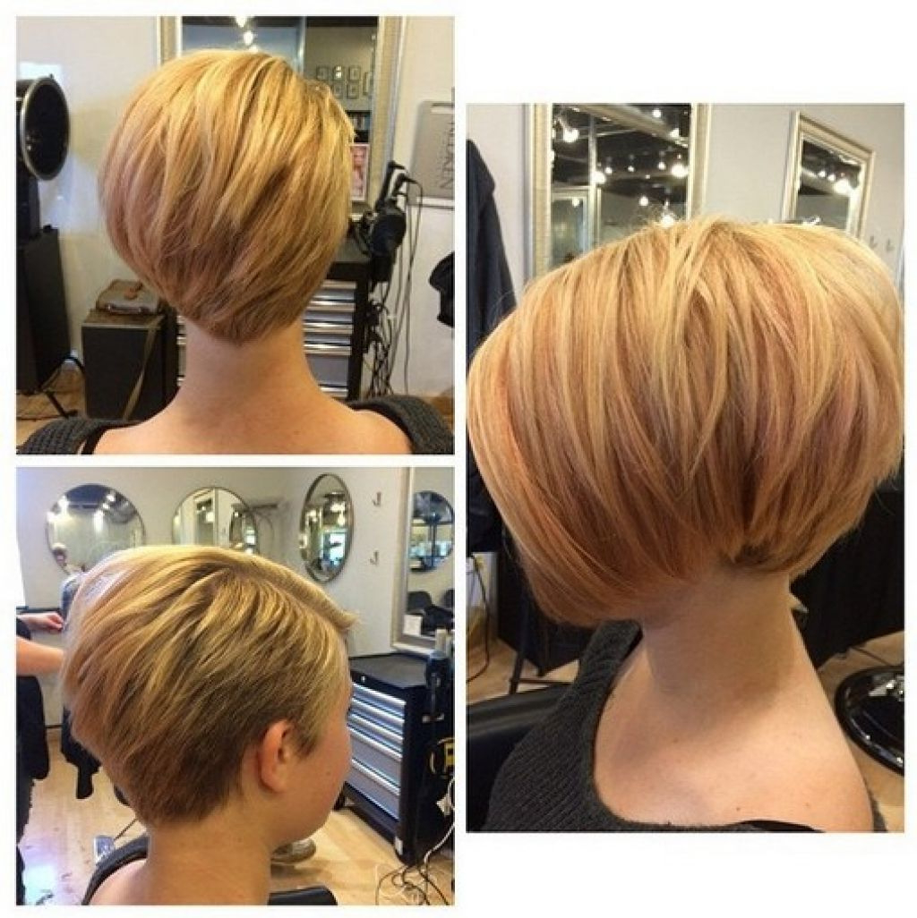 2019 Back Views Of Short Hairstyles New Womens Wedge Haircut Image With Wedge Short Haircuts (View 16 of 25)