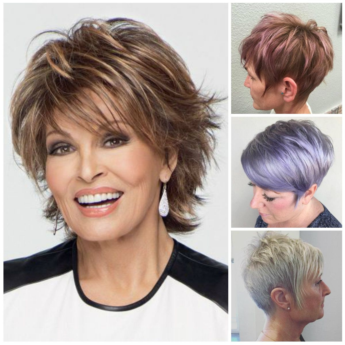 2019 Short Hairstyles For Over 60 Years Old With Glasses Awesome Throughout Short Haircuts For 60 Year Olds (View 20 of 25)