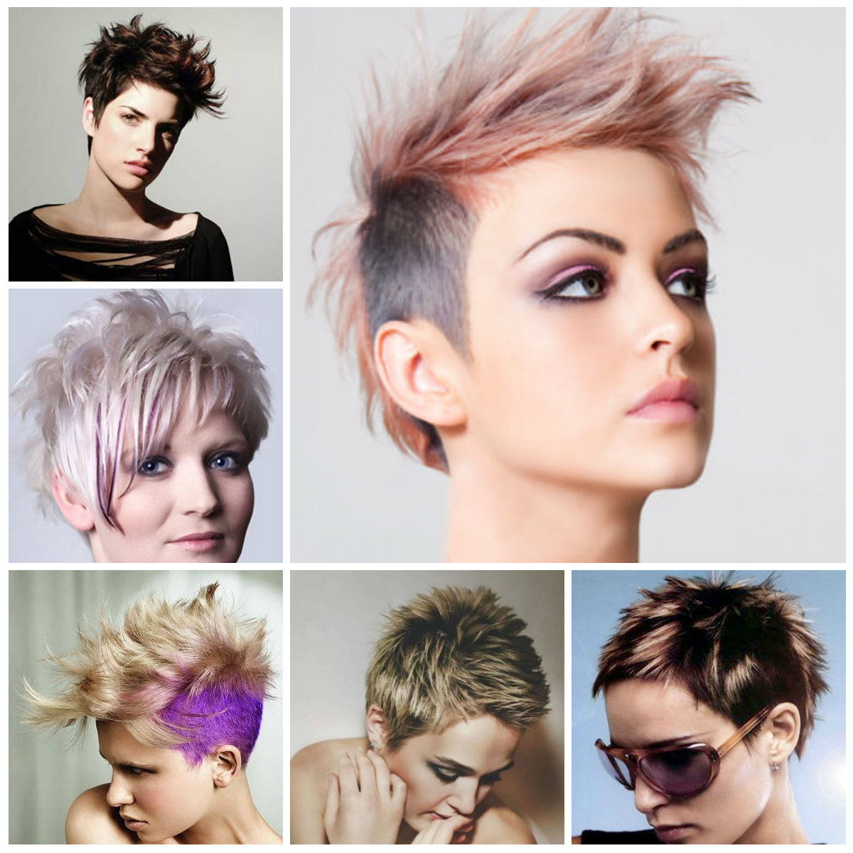 2019 Trendy Short Spiky Hairstyles For Women | Hairstyles For Women Inside Trendy Short Hair Cuts (View 6 of 25)