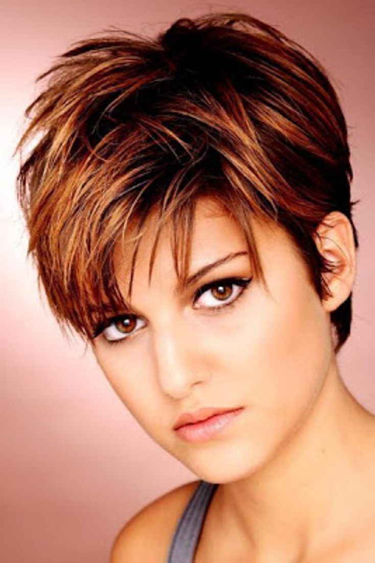 21 Best Short Haircuts For Fine Hair | Jackie's Hair | Pinterest With Short Hairstyles For Round Faces And Thin Fine Hair (View 10 of 25)