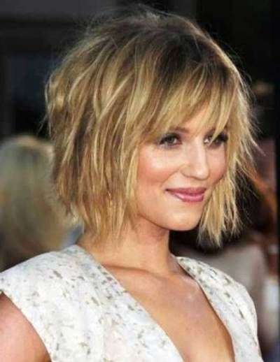 21 Bob Haircuts For Fine Hair – Chic Bob Hairstyles 2018 In 2018 With Regard To Choppy Tousled Bob Haircuts For Fine Hair (View 13 of 25)