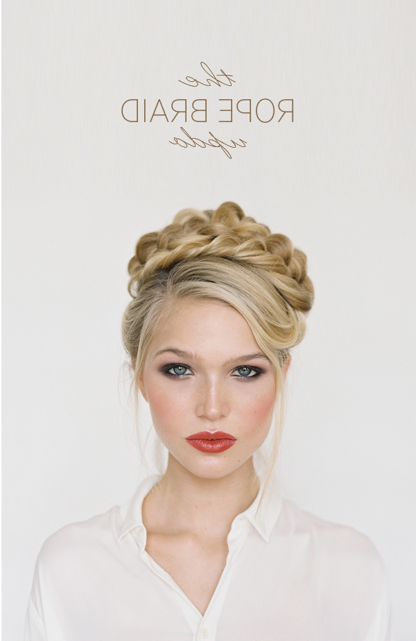 21 Braids For Long Hair That You'll Love! Pertaining To Braided Crown Ponytails For Round Faces (View 13 of 25)