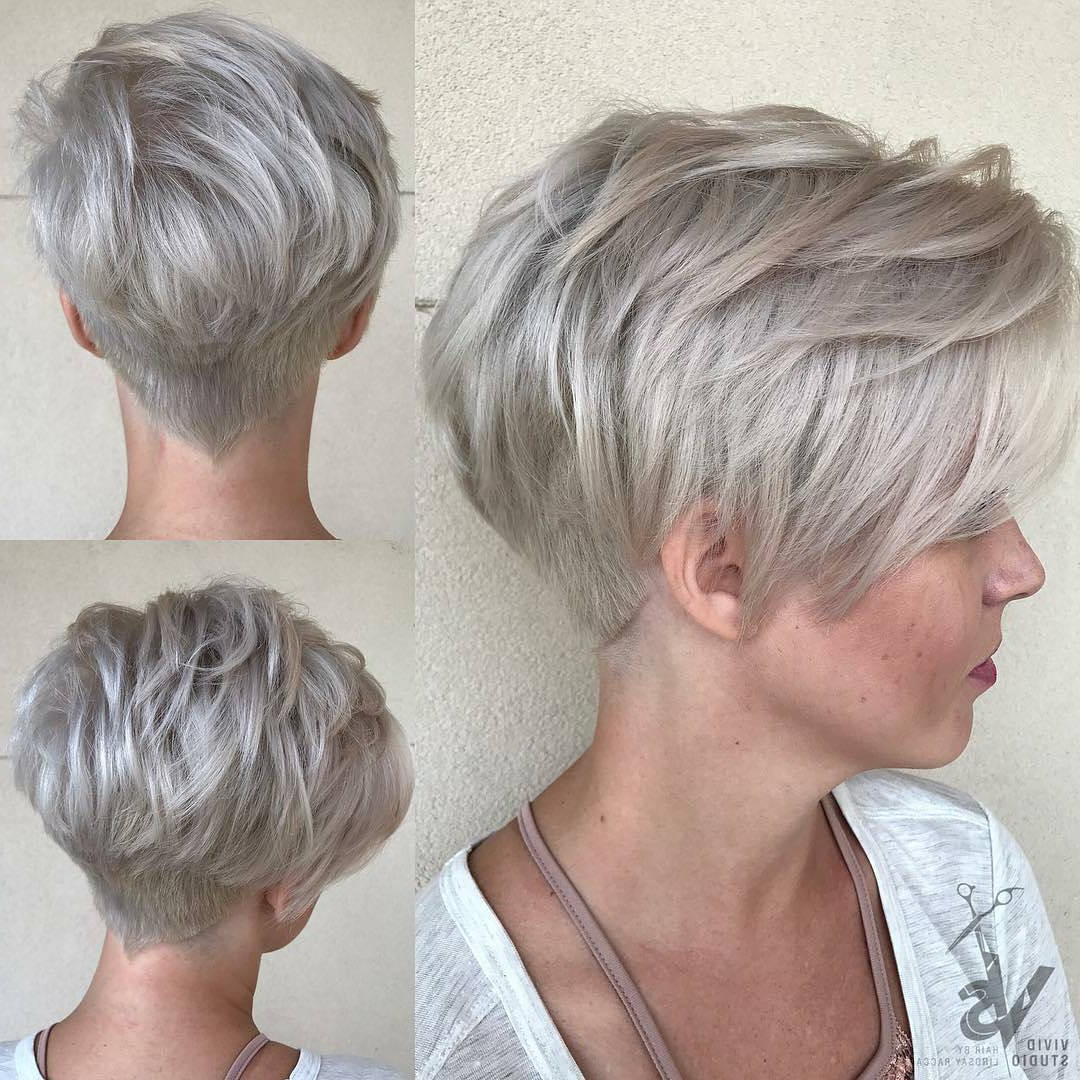 21+ Classy Short Haircuts & Hairstyles For Thick Hair – Sensod Within Wedge Short Haircuts (View 11 of 25)