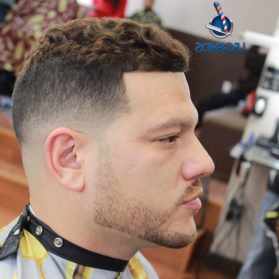 21 Cool Men's Haircuts For Wavy Hair (2018 Update) Pertaining To Thick Curly Hair Short Hairstyles (View 18 of 25)