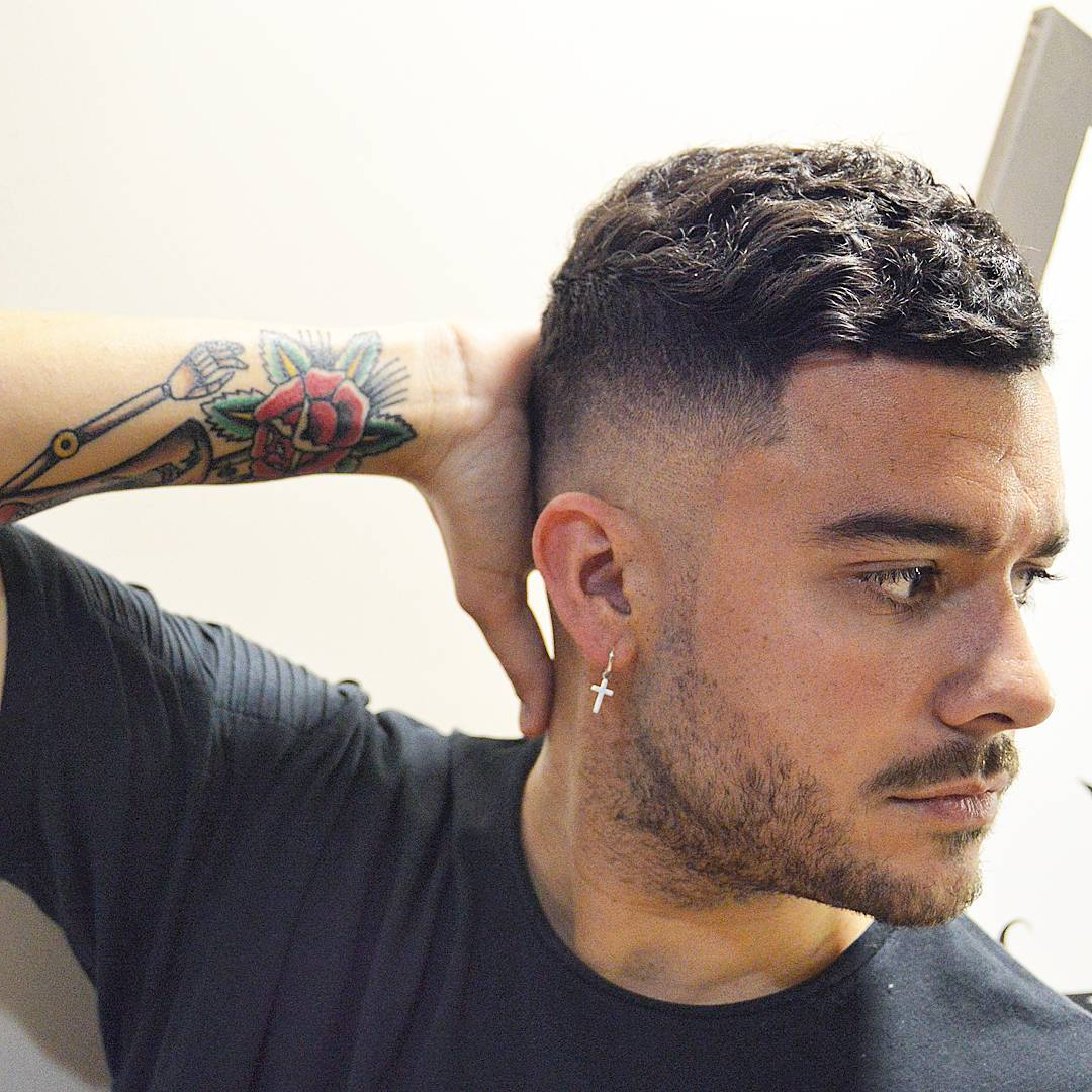 21 Cool Men's Haircuts For Wavy Hair (2018 Update) With Short Haircuts Thick Wavy Hair (View 21 of 25)