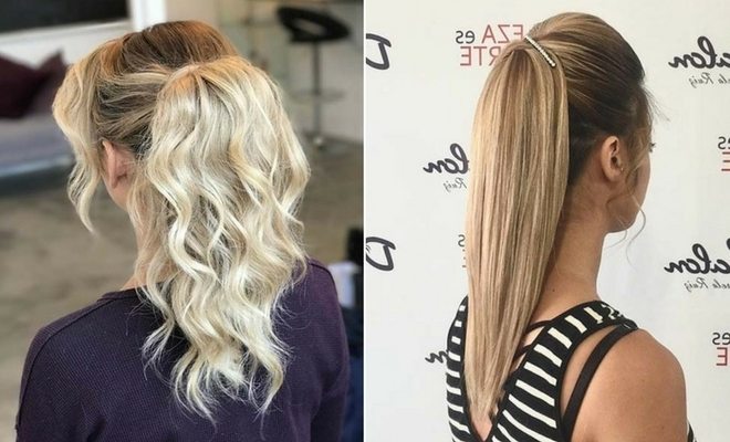 21 Elegant Ponytail Hairstyles For Special Occassions | Page 2 Of 2 In Braided Glam Ponytail Hairstyles (View 4 of 25)