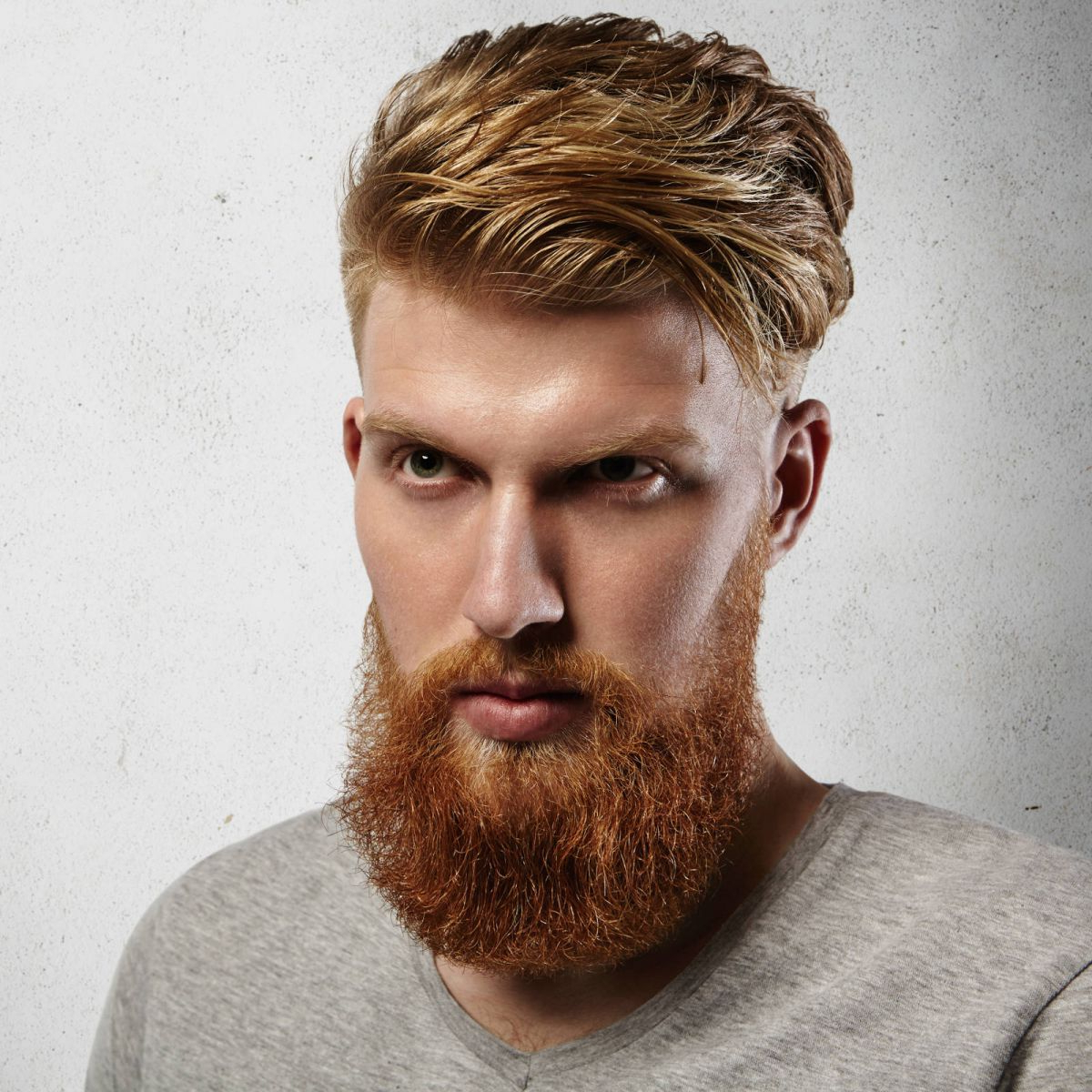 21 Eye Catching Red Hair Men's Hairstyles (Ginger Hairstyles) Pertaining To Tapered Brown Pixie Hairstyles With Ginger Curls (View 16 of 25)