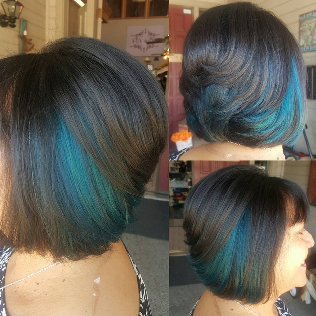 21 Gorgeous Stacked Bob Hairstyles – Popular Haircuts In Extreme Angled Bob Haircuts With Pink Peek A Boos (View 7 of 25)