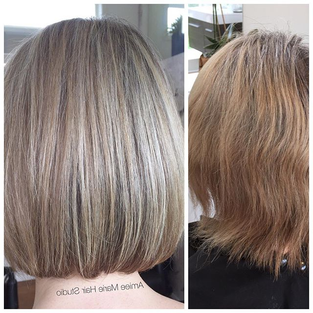 21 Inspiring Medium Bob Hairstyles For 2018 – Mob Haircuts | Styles With Regard To Ash Blonde Bob Hairstyles With Feathered Layers (View 18 of 25)
