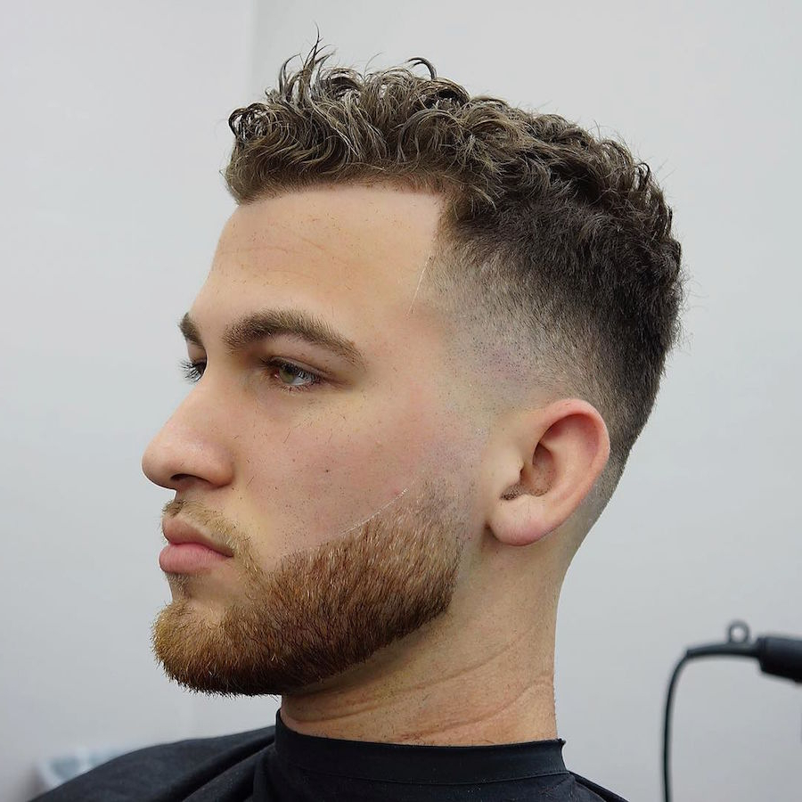 21 New Men's Hairstyles For Curly Hair Pertaining To Undercut Hairstyles For Curly Hair (View 19 of 25)