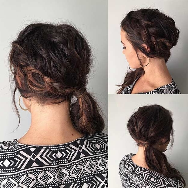 21 Pretty Side Swept Hairstyles For Prom | Stayglam Pertaining To Fancy Updo With A Side Ponytails (View 11 of 25)