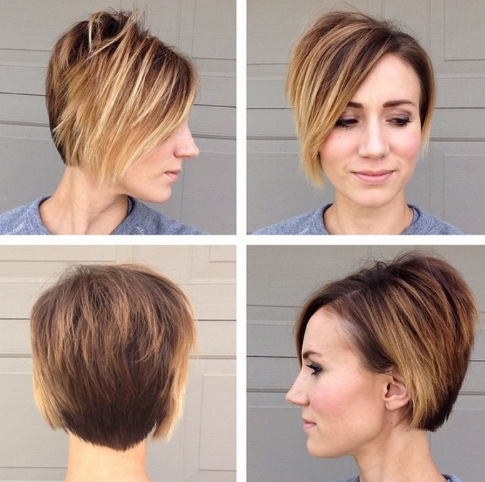 21 Stunning Long Pixie Cuts – Short Haircut Ideas For 2018 Intended For Long Blonde Pixie Haircuts With Root Fade (View 25 of 25)