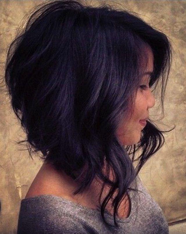 21 Super Cute Asymmetrical Bob Hairstyles   Hair   Pinterest   Hair Throughout Adorable Wavy Bob Hairstyles (View 7 of 25)