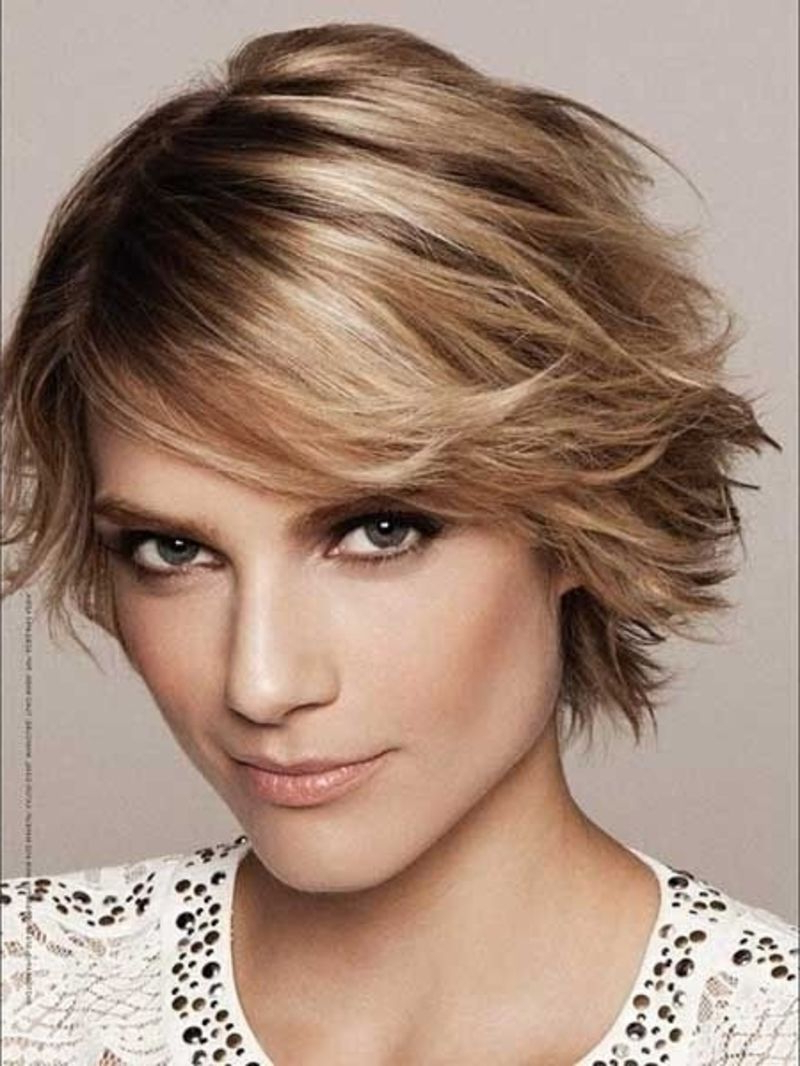 21 #sweet Hairstyles For Your #heart Shaped Face | Shorter Hair Within Cute Short Haircuts For Heart Shaped Faces (View 18 of 25)