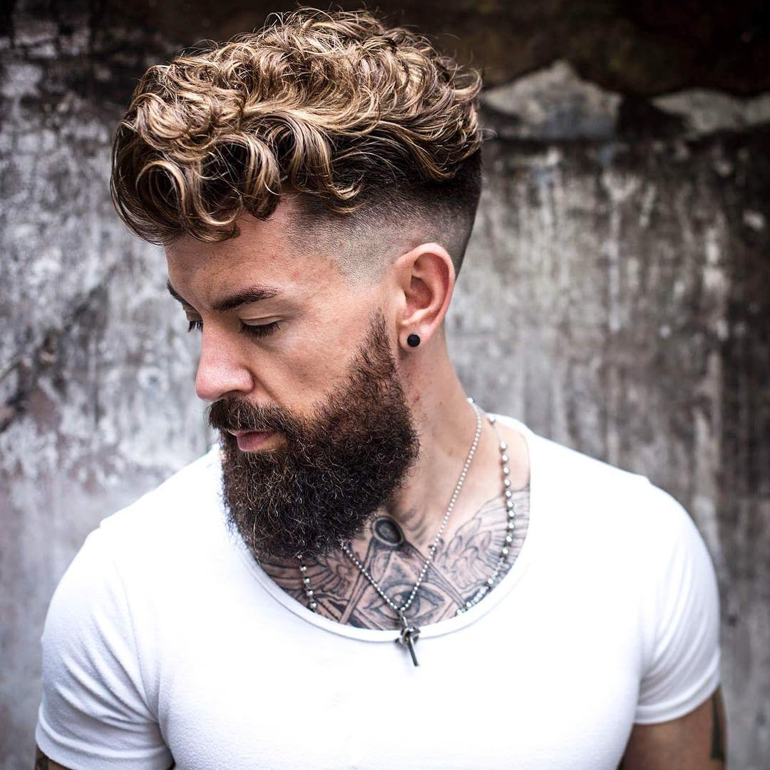 21 Undercut Haircuts + Hairstyles For Men (2018 Update) Within Undercut Hairstyles For Curly Hair (View 6 of 25)